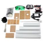 Оригинал 500MW Мин Лазер Гравировальный станок DIY комплект Рабочий стол Лазер Резка