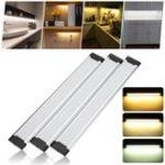Оригинал 30см LED Стрип-шкаф Светлый шкаф Ночь Лампа для кухонного шкафа Ванная комната