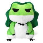 Оригинал 15 дюймов Фаршированная плюшевая игрушка для путешествий Лягушка Симпатичная животная Кукла Игрушка Брелок Dango Accessory