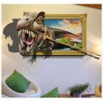 Оригинал Honana 3D наклейки стены динозавров декоративные настенные наклейки