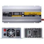 Оригинал 2 В 1 Солнечная Интеллектуальный ток преобразователя Батарея Зарядное устройство 1000 Вт 30A DC12V До 220 В переменного тока