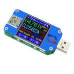 Оригинал Bakeey UM25C USB 2.0 Цвет LCD Дисплей Type C Тестер сопротивления кабеля на напряжение тока
