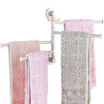 Оригинал Полированный держатель для стойки для аппаратных средств Полотенце Вращающаяся стойка для баров Ванная комната Кухня Полотенце