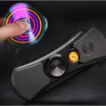 Оригинал Гибрископ для сигарет Fingertip для сигарет USB зарядка CIG Electric Cigarette Чехол Lighter Men Gift