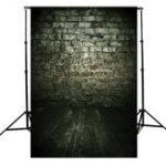 Оригинал 3x5ft Темно-облачный каменный кирпич Тематическая фотография Vinyl Background Back for Studio 0.9×1.5m