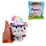 Оригинал Yummiibear Country Cow Squishy 14cm Медленный рост с подарком коллекции упаковки Soft Игрушка