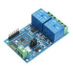 Оригинал 5V Двойной Bluetooth Реле Интернет вещей Smart Home Mobile APP Дистанционный Switch