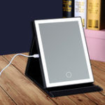 Оригинал Fold LED Сенсорный экран Макияж Зеркало стола