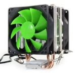 Оригинал Вентилятор охлаждения вентилятора 3Pin Dual Fan для Intel LGA775 / 1156/1155 AMD AM2 / AM2 + / AM3
