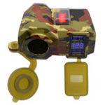 Оригинал 4.2A 12V мотоцикл Зарядное устройство для мобильного телефона Водонепроницаемы Прикуриватель USB Power Разъем