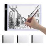 Оригинал A4 2000LM USB 3 режим Diming LED Art Stencil Board Light Коробка Трассировка планшета Pad Table WorkLamp