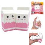 Оригинал Squishy Jumbo Розовый Молочная бутылка Коробка 11,5 * 6 см Медленный рост с подарком коллекции упаковки Soft Игрушка