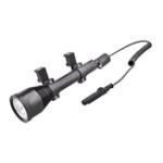 Оригинал MicoliteMGL-0013xT61800LM5Modes 3Lightcolors Dimming Tactical UV LED Набор для охоты на фонарик