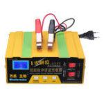 Оригинал 12V / 24V Intelligent Pulse Repair Батарея Зарядное устройство LED Дисплей Smart