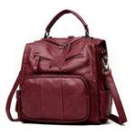 Оригинал Suture Multifunction Bag Shoulder Bag Backpack Travel Bag For Women