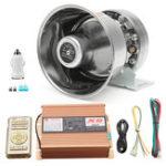 Оригинал 200W Предупреждающий сигнал громкого звука Полиция Fire Siren Horn PA Speaker System Set