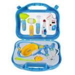 Оригинал Праздничные подарки для детей Dr Doctor Медицинская Набор Playset Pretend Play Toys Обучающая игрушка