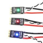 Оригинал HAKRC BLHeli_32 Бит 35A 2-5S ESC Встроенный LED Поддержка Dshot1200 Multishot для FPV RC Дрон