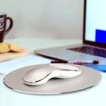 Оригинал Q8 2.4G 1600dpi Беспроводная перезаряжаемая Бесшумный Мышь USB Оптическая эргономика Мышь Мини Мышь Мыши