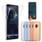 Оригинал ПередняяпанельизадняякрышкаClear Touch Screen Чехол Для Samsung Galaxy S9 Plus