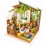 Оригинал Robotime DG108 DIY Doll House Miniature With Furniture Wooden Dollhouse Toy Decor Craft Gift