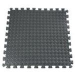 Оригинал 61x61cm EVA Пенополиуретановая плитка для полотенец пола Спортзал Тренажерная комната Yoga Mat Black