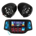Оригинал мотоцикл Ручка MP3 Balck Динамики Аудиосистема USB SD FM с функцией Bluetooth