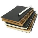Оригинал 1Pcs Kraft Спираль Эскизная записная книжка Graffiti Creative Notebook Блокнот Дневник Книга Школа Канцелярские товары