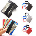 Оригинал Credit Card Holder Travel Mini Wallet Clamp Men Card Case Carte Women Money Cash Clip