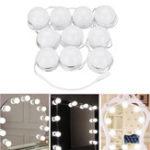 Оригинал 10шт Vanity LED Зеркало Dimmable Комплект лампочек Cosmetic Макияж Голливудский стиль