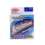 Оригинал Berkley VANISH Revolution Series 150m 12LB Clear Color Fluorocarbon Износостойкий Рыбалка Line