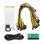 Оригинал DPS 1200FB 200-240V для источника питания Ethereum Mining 12 * (6 + 2) P Boardout Board