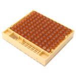 Оригинал Королевы разведения Кукит Bee Ловец Bee Удержание Коробка + 110 Ячейки для клеток Кейдж Bee Уборочное оборудование Набор