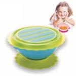Оригинал Детский сундук Bowl Antiskid Подающая посуда Малыш Baby Kids Bowl Детская кормушка для тренировки
