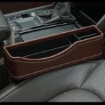 Оригинал 27X16cmКожаPUАвтоSeatGap Storage Коробка Seat Slit Pocket Phone Holder