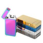 Оригинал Atomic Dual Arc USB Электрическая перезаряжаемая беспламенная ветрозащитная зажигалка Набор для сигарет
