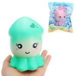 Оригинал Cutie Creative Squid Squishy 15.5cm Медленный рост Оригинальная коллекция подарков