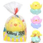 Оригинал Kiibru Chick Squishy 15 * 14 * 13.5cm Медленный рост Оригинальная коллекция подарков Игрушка для подарков