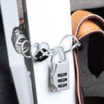 Оригинал KCASALK-243DigitCombinationЗамок На открытом воздухе Пароль безопасности Padlock Password Замок с плетеным стальным тросом