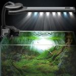 Оригинал 360 ° Гибкий LED Аквариум Легкий зажимной резервуар для рыбы Mini Лампа