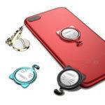 Оригинал Oatsbasf Кот Металл 360 градусов вращения палец кольцо держатель настольная подставка для iPhone мобильный телефон