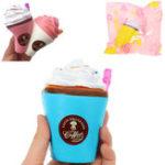 Оригинал Suction Cup Squishy 8 * 10cm Slow Rising Soft Коллекция Подарочный декор Игрушка Оригинальная упаковка