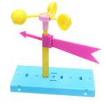 Оригинал Ветер Вейн Направление ветра Физический эксперимент DIY Наука Развивающие игрушки Набор