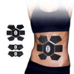Оригинал Главная Фитнес USB Charing Abdominal Muscle Trainer EMS Arm Body Shape Beauty Exerciser