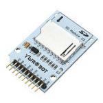 Оригинал 10Pcs SD-карта для чтения и записи Модуль электронного блочного блока для Arduino