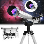 Оригинал 675x High Magnification Astronomical Refractive Zooming Telescope for Space Celestial Observation