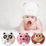 Оригинал Animal Style Funny Baby Pacifier Food Grade Силиконовый Soother Teether Orthodontic Dummy Baby Nipple