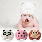Оригинал Animal Style Funny Baby Pacifier Food Grade Силиконовый Soother Teether Orthodontic Dummy Baby Nipple