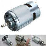 Оригинал DC12V775Мотор3500об / мин DC большой вращающий момент Мотор Gear Мотор