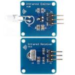 Оригинал 5Pair Mini 38KHz IR Модуль инфракрасного передатчика + IR Инфракрасный Приемник Датчик Модуль для Arduino RPI STM32
